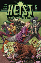 Image: Heist: How to Steal a Planet #5 - Vault Comics