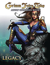Image: Grimm Fairy Tales Adult Coloring Book Legacy  - Zenescope Entertainment Inc