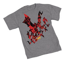 Image: Batman T-Shirt: Broken City  (XL) - Graphitti Designs