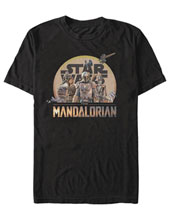 Image: Star Wars: The Mandalorian T-Shirt - Character Logo  (XL) - Fifth Sun