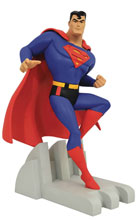 Image: DC Premier Collection Statue: TAS - Superman  - Diamond Select Toys LLC