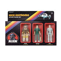 Image: Alien Reaction Figures Action Figure 3-Pack: Pack A  - Super 7