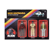 Image: Alien Reaction Figures Action Figure 3-Pack: Pack B  - Super 7