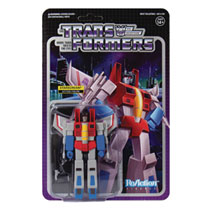Image: Transformers Reaction Figure: Starscream  - Super 7