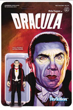 Image: Universal Monsters ReAction Wave 2 Figure: Dracula  - Super 7