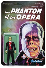 Image: Universal Monsters ReAction Wave 2 Figure: Lon Chaney as the Phantom of the Opera  - Super 7