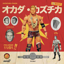 Image: New Japan Pro Wrestling Ultimates Wave 1 Action Figure: Kazuchika Okada  - Super 7