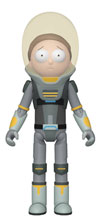 Image: Funko Rick & Morty Action Figure: Space Suit Morty  - Funko