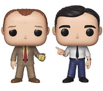 Image: Pop! TV Vinyl Figure: The Office 2-Pack - Toby vs. Michael  - Funko