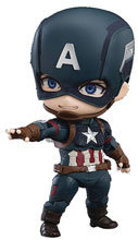 Image: Avengers Endgame Nendoroid Action Figure: Captain America  (deluxe version) - Good Smile Company