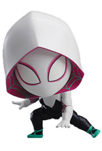 Image: Spider-Man: Into the Spiderverse Nendoroid Action Figure: Spider-Gwen  (Deluxe) - Good Smile Company
