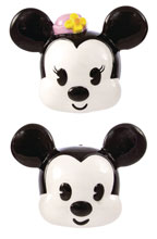 Image: Disney Mickey & Minnie Salt & Pepper Shaker 2-Piece Set: Heads  - Seven 20