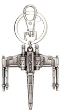 Image: Star Wars Pewter Key Ring: X-Wing  - Monogram Products