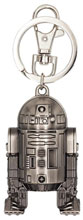 Image: Star Wars Pewter Key Ring: R2-D2  - Monogram Products