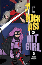Image: Kick-Ass vs. Hit-Girl #5 (cover C - Brooks Millar) - Image Comics