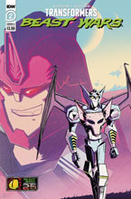Image: Transformers: Beast Wars #2 (cover A - Josh Burcham) - IDW Publishing