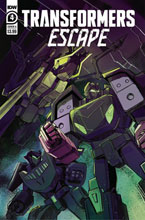 Image: Transformers Escape #4 (cover A - McGuire-Smith) - IDW Publishing
