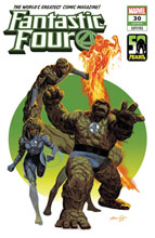 Image: Fantastic Four #30 (KiB) (variant The Thing-Thing cover - Acuna) - Marvel Comics
