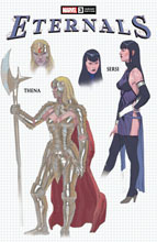 Image: Eternals #3 (incentive 1:10 Design cover - Ribic) - Marvel Comics