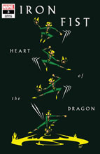 Image: Iron Fist: Heart of the Dragon #3 (variant cover - Veregge) - Marvel Comics