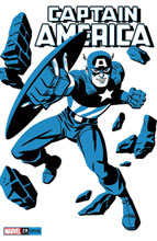 Image: Captain America #28 (variant Two-Tone: Captain America cover - Michael Cho) - Marvel Comics