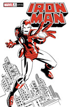 Image: Iron Man #7 (variant Two-Tone: Iron Man cover - Michael Cho) - Marvel Comics