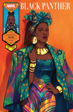 Image: Black Panther #24 (variant Women's History Month: Shuri cover - Bartel) - Marvel Comics