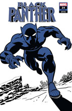 Image: Black Panther #24 (variant Two-Tone: Black Panther cover - Michael Cho) - Marvel Comics