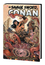 Image: Savage Sword of Conan Original Marvel Years Omnibus Vol. 05 HC  (main cover - Asrar) - Marvel Comics