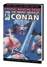 Image: Savage Sword of Conan Original Marvel Years Omnibus Vol. 05 HC  (variant DM cover - David Mattingly) - Marvel Comics