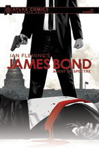 Image: James Bond: Agent of Spectre #1 (signed Atlas edition - Gage) - Dynamite