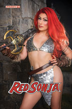 Image: Red Sonja #25 (cover E - Hollon Cosplay) - Dynamite