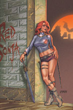 Image: Red Sonja #25 (variant cover - virgin Linsner) - Dynamite