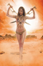 Image: Dejah Thoris: Winter's End One-Shot  (incentive 1:20 cover - Cosplay virgin) - Dynamite