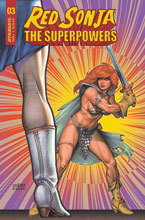 Image: Red Sonja: The Superpowers #3 (cover B - Linsner) - Dynamite