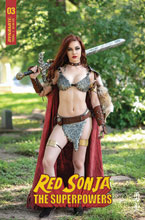 Image: Red Sonja: The Superpowers #3 (cover E - Polson Cosplay) - Dynamite