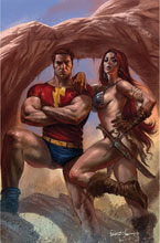 Image: Red Sonja: The Superpowers #3 (variant cover - Parrillo virgin) - Dynamite