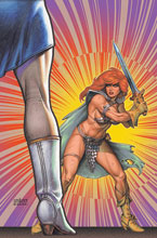 Image: Red Sonja: The Superpowers #3 (variant cover - Linsner virgin) - Dynamite
