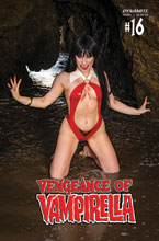 Image: Vengeance of Vampirella #16 (cover D - Hollon Cosplay) - Dynamite