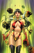 Image: Vengeance of Vampirella #16 (incentive 1:10 cover - Segovia virgin) - Dynamite