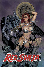 Image: Jim Balent's Classic Red Sonja #4 Reprint Cover  - Dynamite