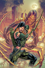 Image: Robyn Hood: Cult of the Spider One-Shot  (cover A - Igor Vitorino) - Zenescope Entertainment Inc