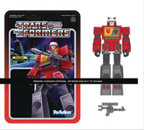 Image: Transformers ReAction Figure: Blaster W3  - Super 7