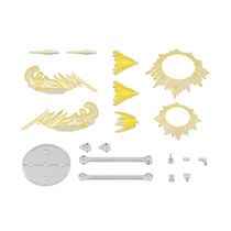 Image: 30 Minute Mission Customize Effect: 07 Action Image Yellow  - Bandai Hobby
