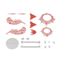 Image: 30 Minute Mission Customize Effect: 08 Action Image Red  - Bandai Hobby