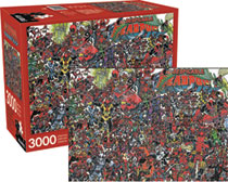 Image: Aquarius Deadpool Puzzle  (3000-Piece) - Nmr Distribution America