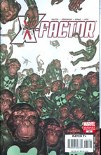 Image: X-Factor #35 (Monkey variant cover) - Marvel Comics