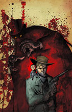 Image: Billy the Kid's Old Timey Oddities & the Ghastly Fiend London #1 (Powell cvr) - Dark Horse