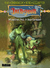 Image: Dungeon Monstres Vol. 03: Heartbreaker SC  - NBM