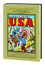 Image: Marvel Masterworks: Golden Age U.S.A. Comics Vol. 02 HC  - Marvel Comics